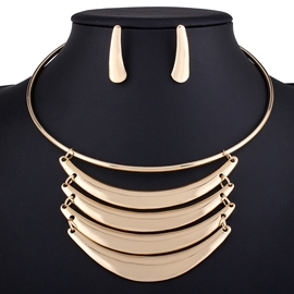 Ericdress Multilayer Alloy Pendant Fashion Jewelry Set