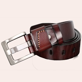 Ericdress Casual Cowboy Pin Buckle Men's Belt