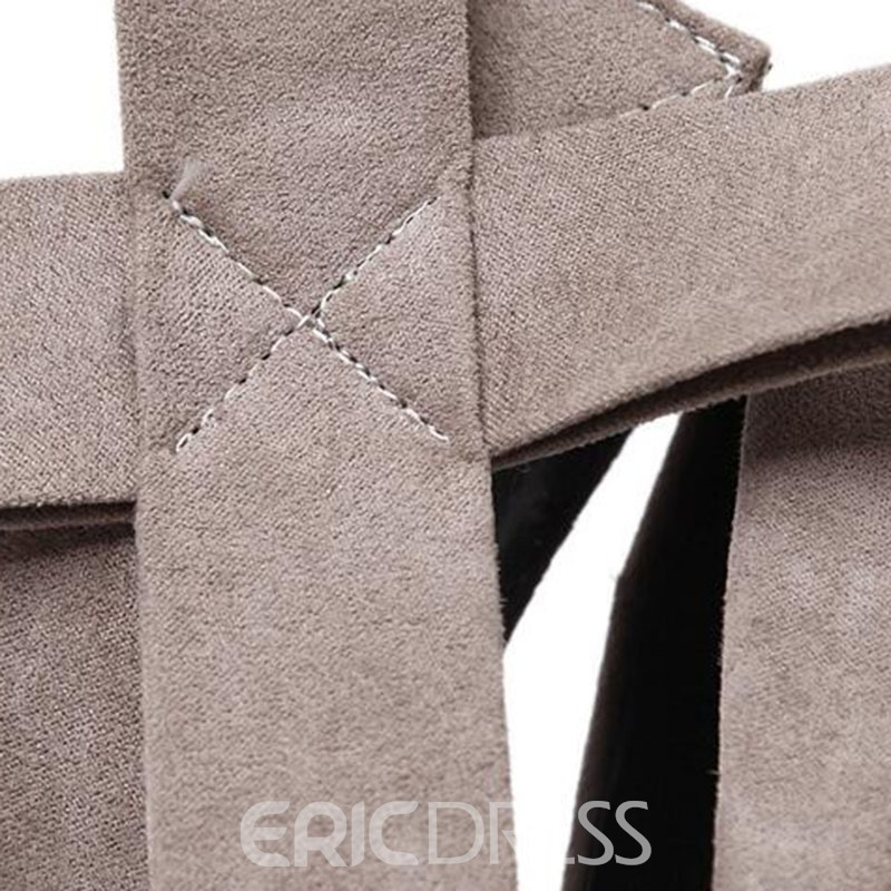 Ericdress Round Toe Platform Ultra High Pumps