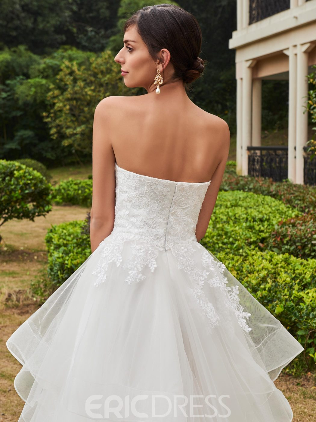 Ericdress High Quality Appliques Sweetheart A Line Garden Wedding Dress