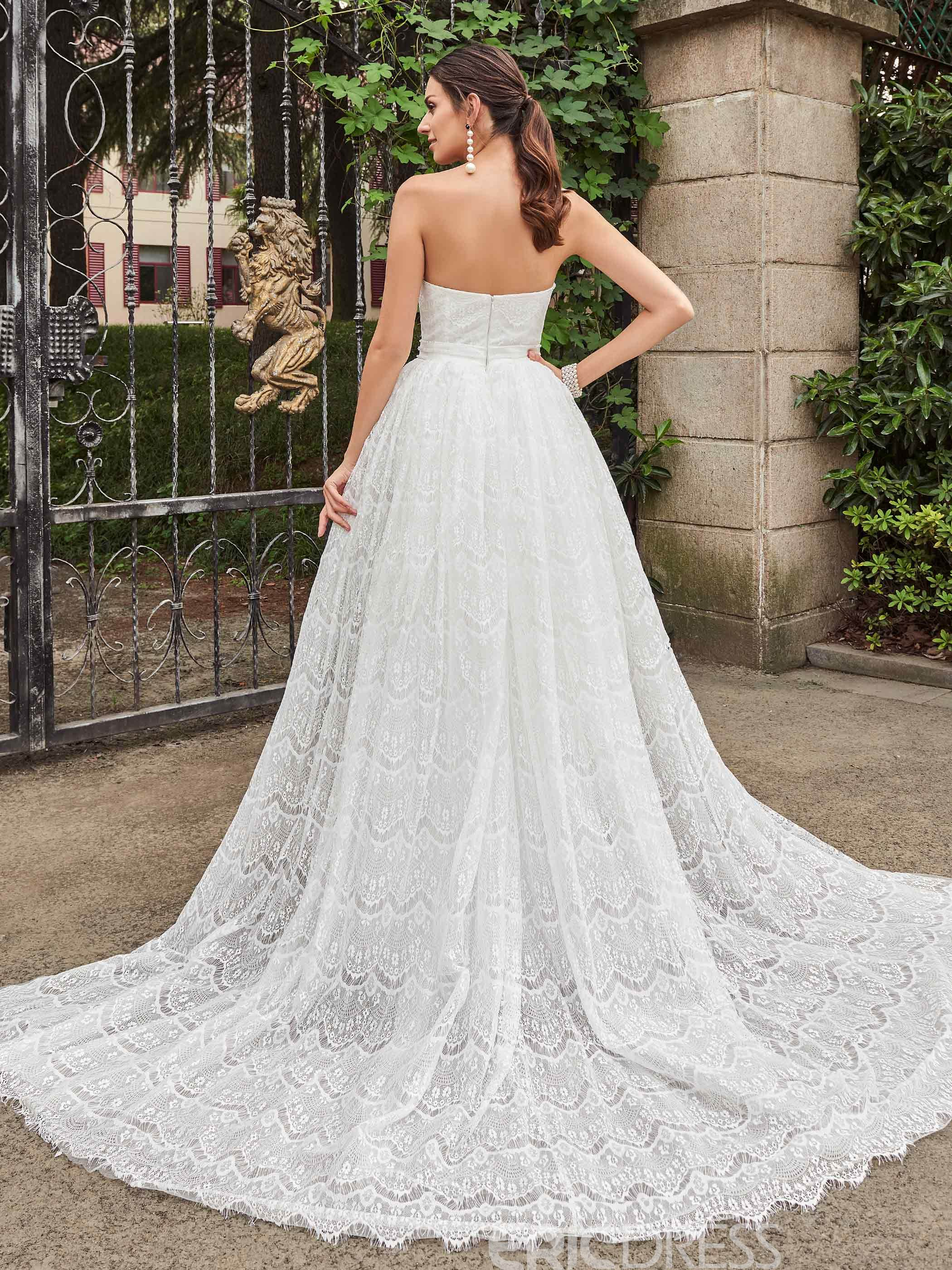 Ericdress High Quality Sweetheart Mermaid Lace Wedding Dress