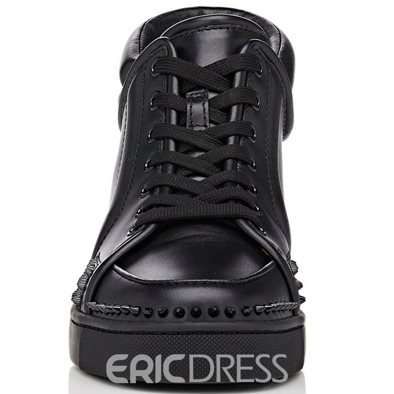 Ericdress Round Toe High-Cut Upper Sneakers