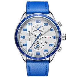 Ericdress Quarz Bewegung blaues Band Design Herrenuhr