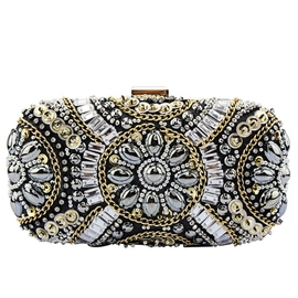Ericdress Classic Rhinestone Decorated Mini Evening Clutch