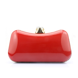 Ericdress Ladylike Shiny PU Evening Clutch