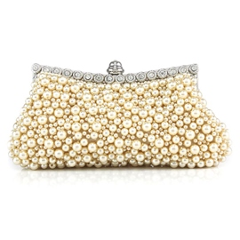 Ericdress Sweet Handmade Beaded Evening Clutch