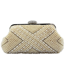 Ericdress Graceful Beaded Rhinestone Evening Clutch