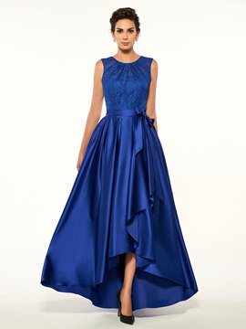 Ericdress Fancy Jewel Spitze High-Low A Line Mutter der Brautkleid
