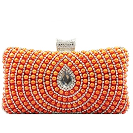 Ericdress Water Drop Beaded Evening Clutch