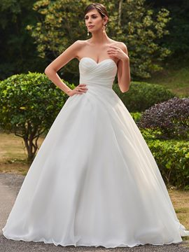 Ericdress Classic Sweetheart Ball Gown Wedding Dress