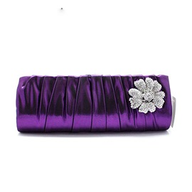 Ericdress Cool Diamante Flower Evening Clutch