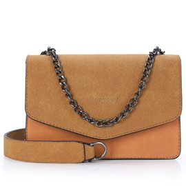 Ericdress Vintage Nubuck Leather Crossbody Bag