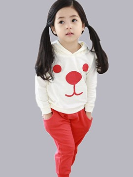 Ericdress Cute Dog Printed Casual Boys Outfit