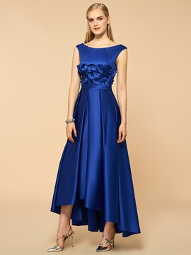Ericdress Amazing Scoop Flower High Low Bridesmaid Dress