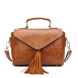 Ericdress Vintage Women Tassel Decorated Handbag