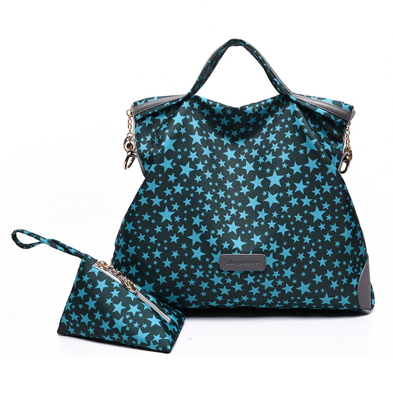 Ericdress Simple Embroidery Canvas Handbags(2 Bags)