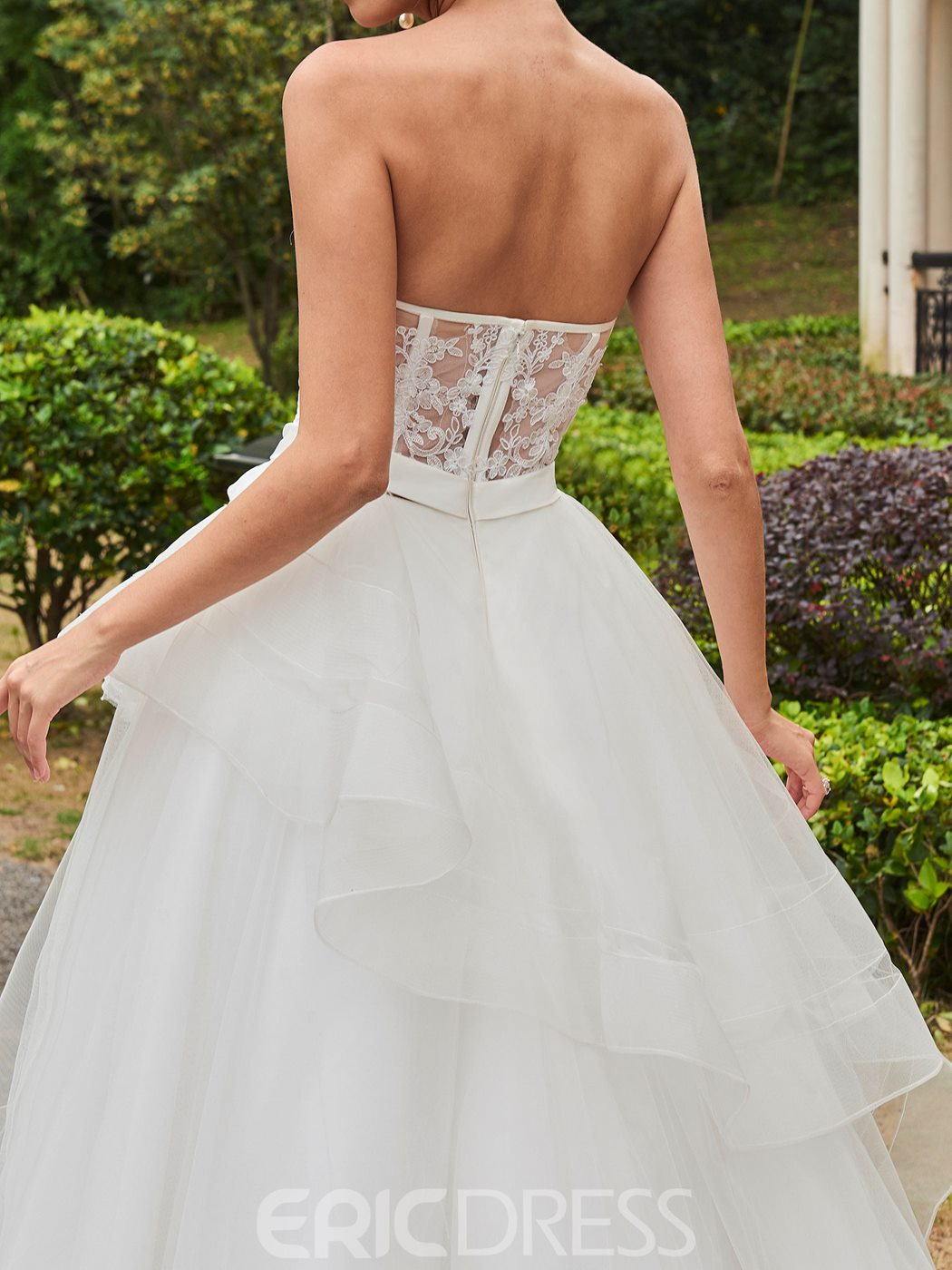 Ericdress Amazing Sweetheart Appliques A Line Garden Wedding Dress