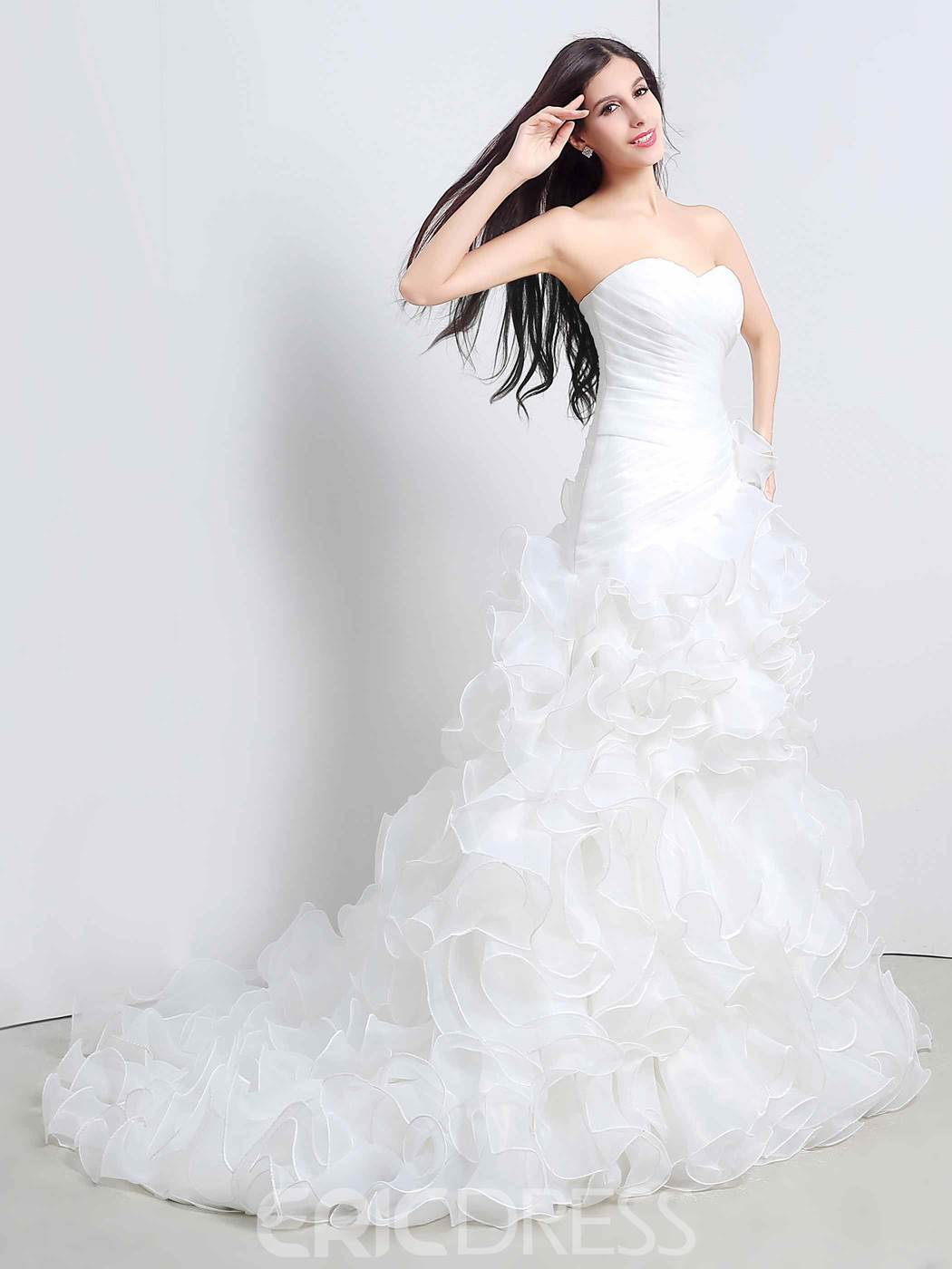 Ericdress Sweetheart A Line Wedding Dress