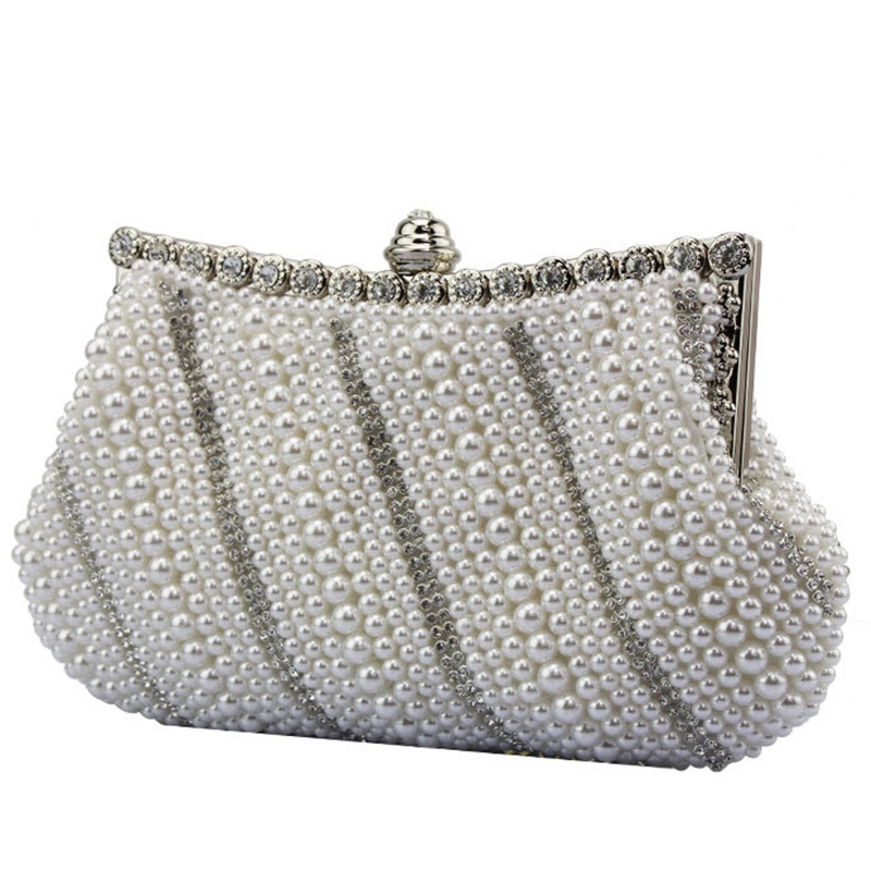 Ericdress Noble Ladylike Rhinestone Evening Clutch