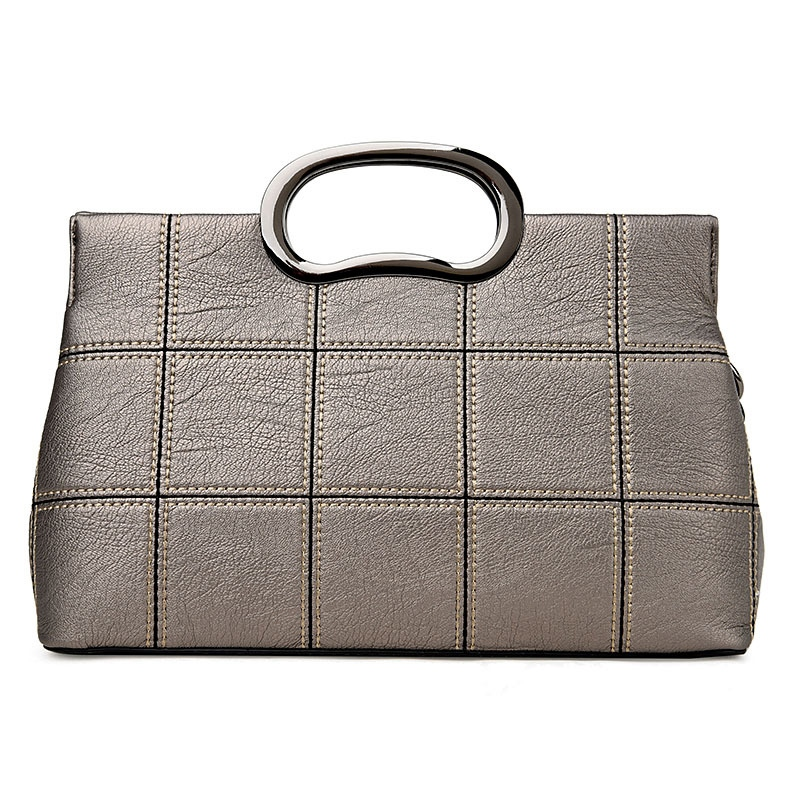 Ericdress Versatile Soft Plaid Thread Handbag