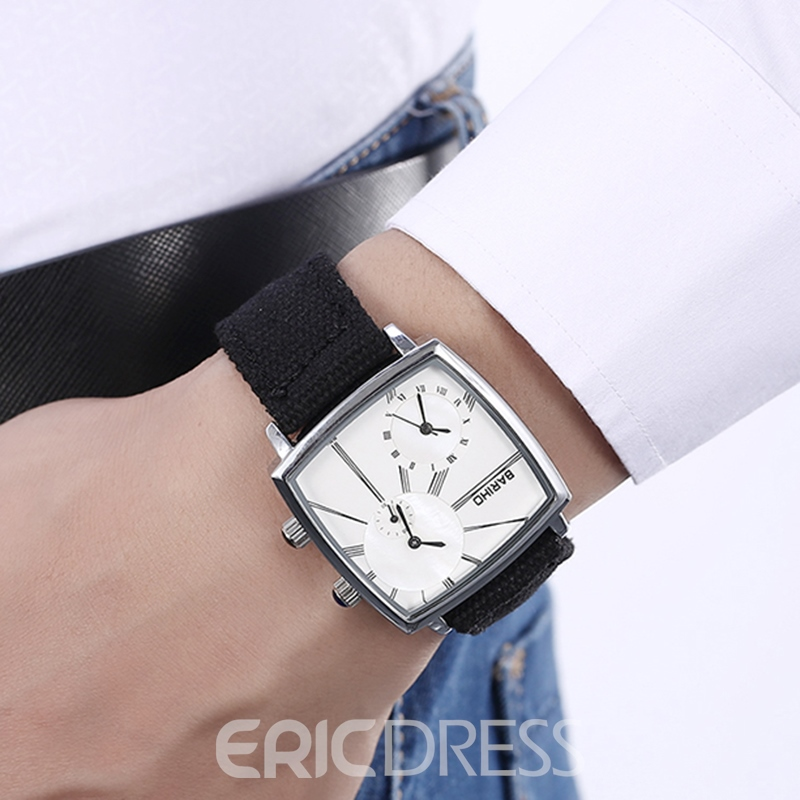 Ericdress Multiple Time-Zone Waterproof Men's Watch