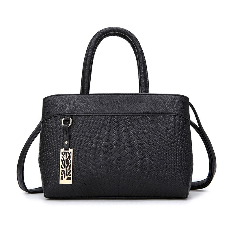 Ericdress Casual Concise Weaved Pattern Handbag