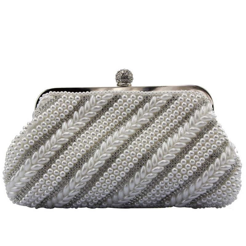 Ericdress Wheat Shape Rhinestone Evening Clutch