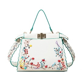 Ericdress National Style Rivets Embroidery Handbag