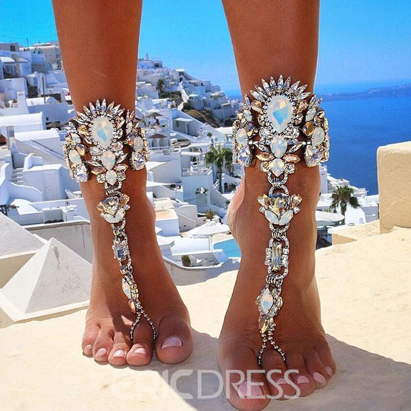Ericdress Geometric E-Plating Anklet(just 1 Pic)