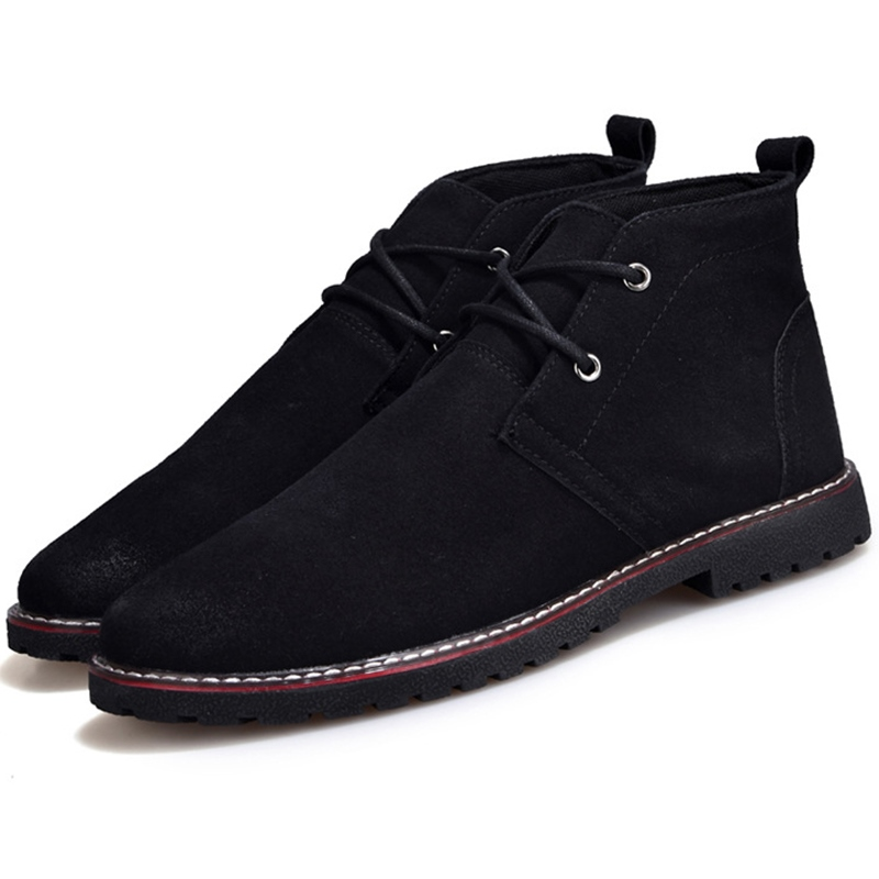 Ericdress Western Round Toe Plain Men's Boots