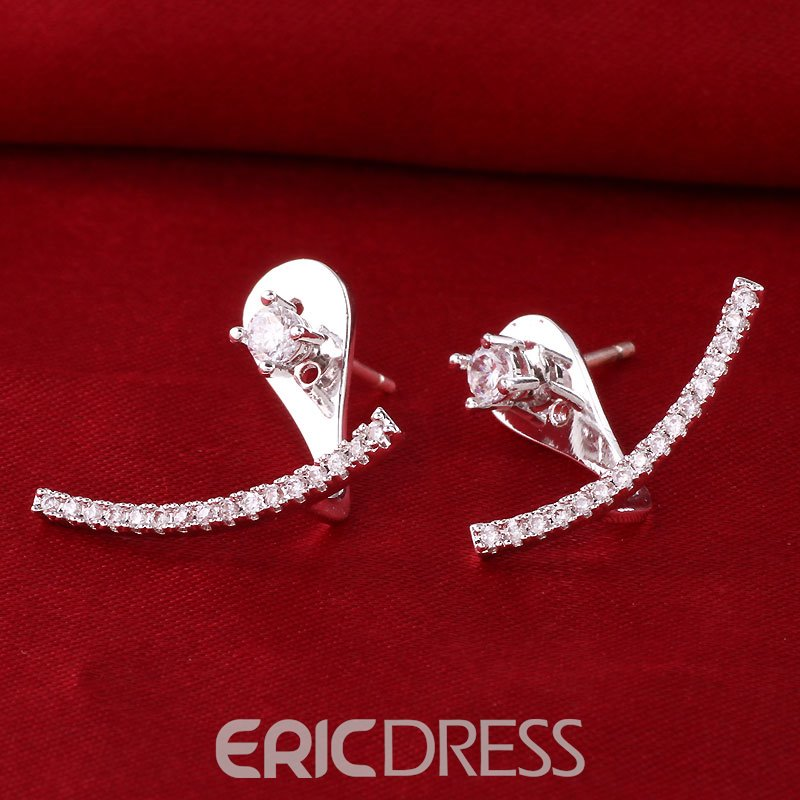 Ericdress S925 Sterling Silver All Match Women's Ear Cuff