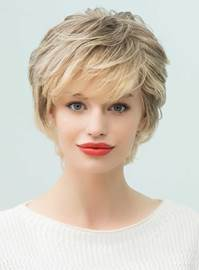 Ericdress Short Layered Curly Human Hair With Bangs Capless Wigs 10 Inches