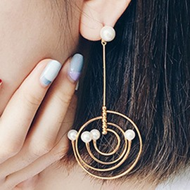 Ericdress Asymmetric Galaxy Design Women's Earrings