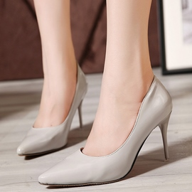 Ericdress Charming OL Patent Leather Point Toe Pumps