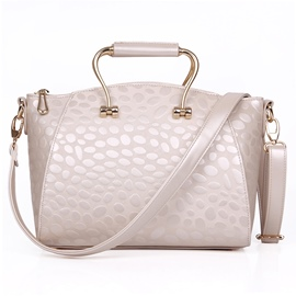 Ericdress Graceful Bubble Embossed Handbag