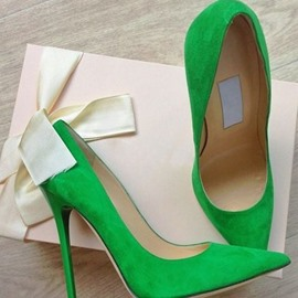 Ericdress Greenery Stiletto Heels Pumps