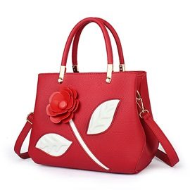 Ericdress Ladylike Stereo Floral Decorated Handbag