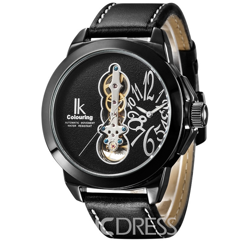 Ericdress JYY Double Movement Large Dial Mechanical Watch for Men