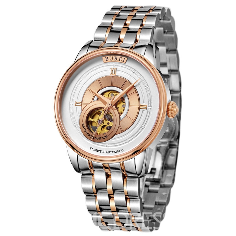 Ericdress JYY Sapphire Surface Men's Mechanical Watch
