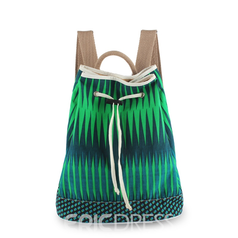 Ericdress Foldable Waterfall Print Travel Handbags(4 Bags)