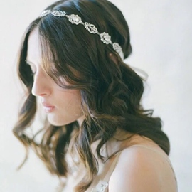 Ericdress Princess Style Diamante Bridal Hair Accessories
