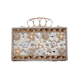 Ericdress Noble Geometric Rhinestone Evening Clutch