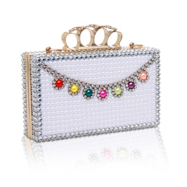 Ericdress Versatile Geometric Rhinestone Evening Clutch