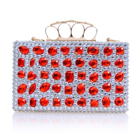 Ericdress Decent Geometric Rhinestone Evening Clutch