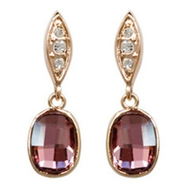 Ericdress Wonderful Crystal Inlaid Alloy Earrings