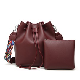 Ericdress Casual Hollow Bucket Handbags(2 Bags)