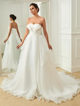 Ericdress Sweetheart Appliques A Line Wedding Dress