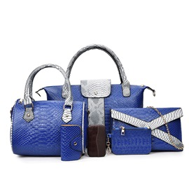 Ericdress All Match Charming Croco-Embossed Handbags(6 Bags)