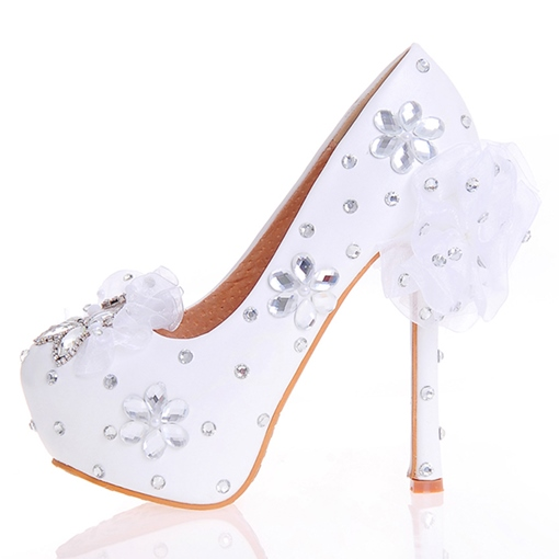 Ericdress Princess Rhinestone Ultra-High Heel Wedding Shoes