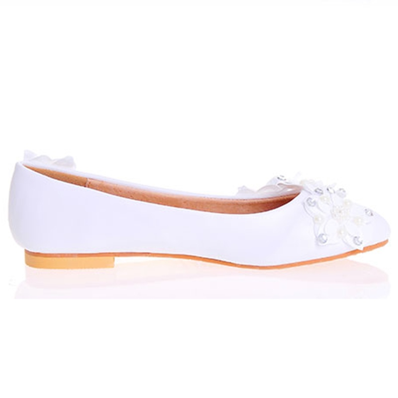 Ericdress Appliques Square Heel Wedding Shoes